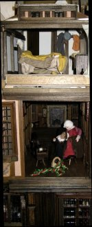 theinfill Medieval, Tudor, Jacobean 1:12 dolls house blog - the infill dolls house blog – boy's bedroom - position of the boy's bedroom