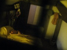 theinfill Medieval, Tudor, Jacobean 1:12 dolls house blog - the infill dolls house blog – boy's bedroom - view through window 1