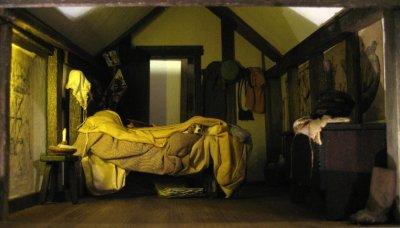 theinfill Medieval, Tudor, Jacobean 1:12 dolls house blog - the infill dolls house blog – boy's bedroom with all items