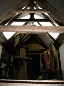 theinfill Medieval, Tudor, Jacobean 1:12 dolls house blog - the infill dolls house blog – schoolroom back in one piece
