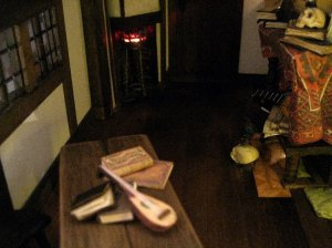 theinfill Medieval, Tudor, Jacobean 1:12 dolls house blog - the infill dolls house blog – schoolroom furniture in place