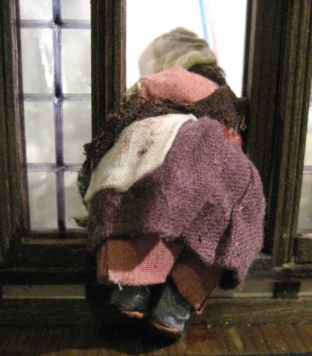 theinfill Medieval, Tudor, Jacobean 1:12 dolls house blog - the infill dolls house blog – the girl at the window - balancing act