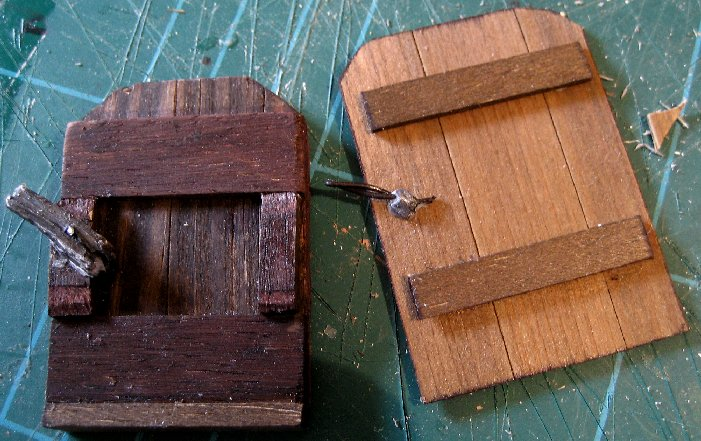 theinfill Medieval, Tudor, Jacobean 1:12 dolls house blog - the infill dolls house blog – trying out possible window shutter comparisons