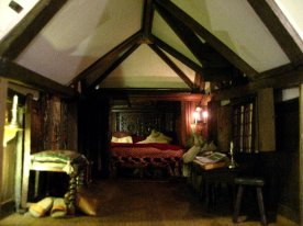 theinfill Medieval, Tudor, Jacobean 1:12 dolls house blog - the infill dolls house blog – all the ceiling bits in Red Bed bedroom