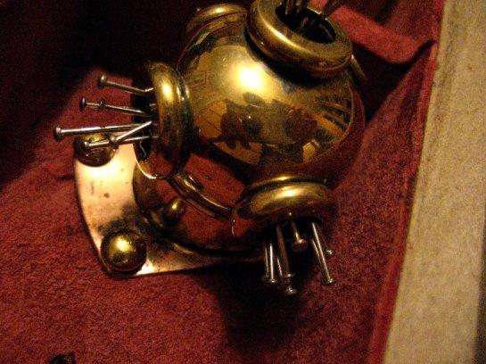 theinfill Medieval, Tudor, Jacobean 1:12 dolls house blog - the infill dolls house blog – Christmas gift- pin cushion