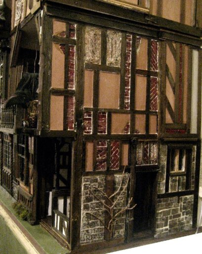 theinfill Medieval, Tudor, Jacobean 1:12 dolls house blog - the infill dolls house blog – External dressing of outer wall right