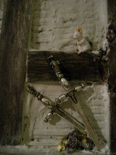 theinfill Medieval, Tudor, Jacobean 1:12 dolls house blog - the infill dolls house blog – adding to a hidden space