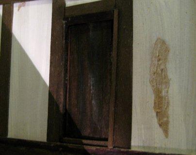 theinfill Medieval, Tudor, Jacobean 1:12 dolls house blog - the infill dolls house blog – the facing wall not so detailed