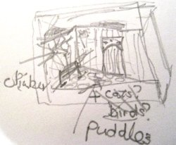 theinfill Medieval, Tudor, Jacobean 1:12 dolls house blog - the infill dolls house blog – quickly scrawled plan