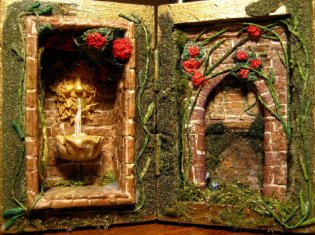 theinfill Medieval, Tudor, Jacobean 1:12 dolls house blog - the infill dolls house blog - theinfill Box Scenes – Box Scene 2