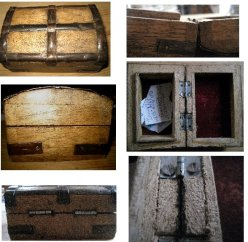 theinfill Medieval, Tudor, Jacobean 1:12 dolls house blog - the infill dolls house blog – small wooden box for miniature scene #2