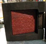 theinfill Medieval, Tudor, Jacobean 1:12 dolls house blog - the infill dolls house blog – base of box intenal view of selected box