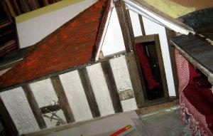 theinfill Medieval, Tudor, Jacobean 1:12 dolls house blog - the infill dolls house blog – finishing off doorway