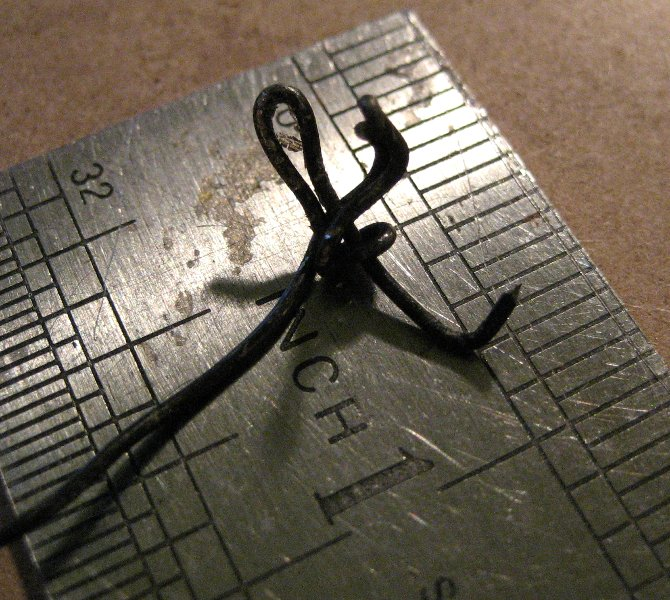 theinfill Medieval, Tudor, Jacobean 1:12 dolls house blog - the infill dolls house blog – wire armature of a half figure
