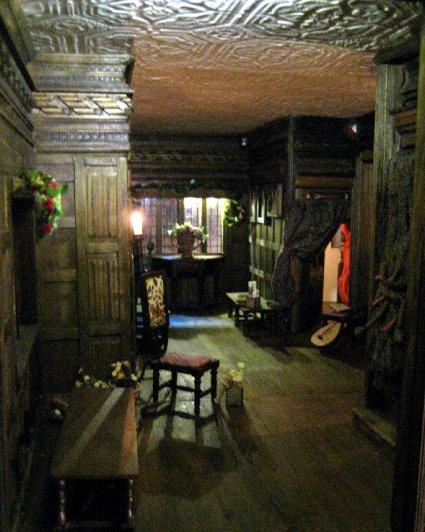 theinfill Medieval, Tudor, Jacobean 1:12 dolls house blog - the infill dolls house blog – Long Gallery arm 1
