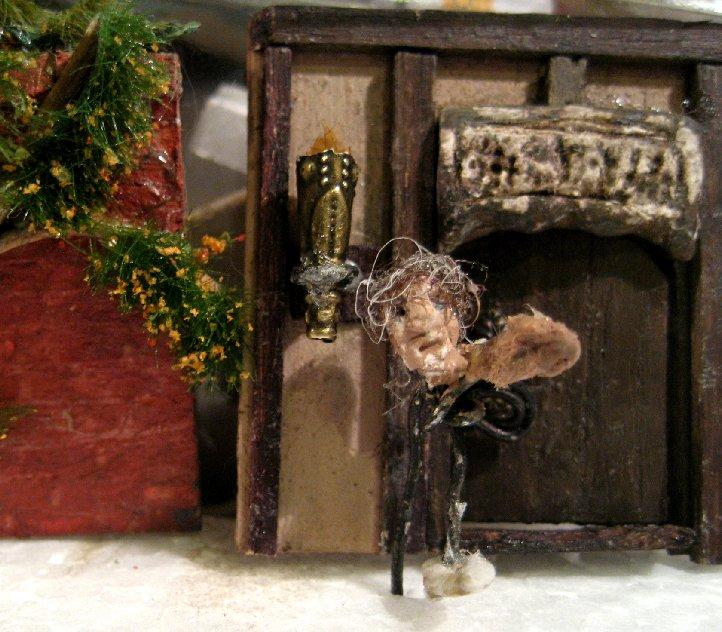 theinfill Medieval, Tudor, Jacobean 1:12 dolls house blog - the infill dolls house blog – wire armature of a half figure 3
