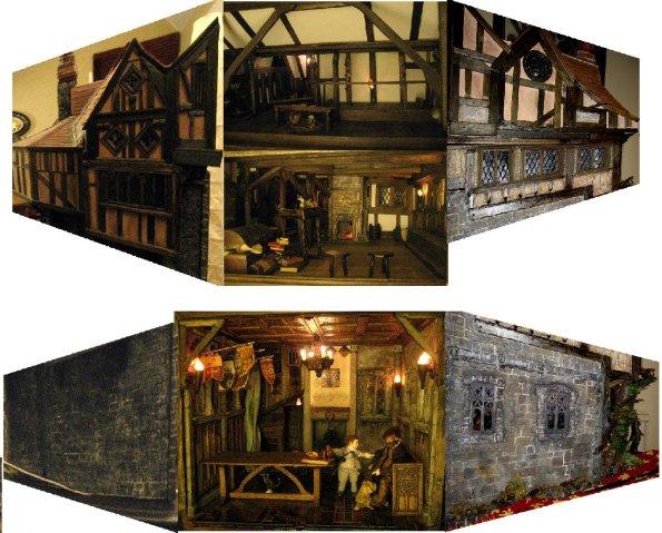 theinfill Medieval, Tudor, Jacobean 1:12 dolls house blog - the infill dolls house blog – Great Hall extension block