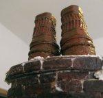 theinfill Medieval, Tudor, Jacobean 1:12 dolls house blog - the infill dolls house blog – adapting shaped pots 2