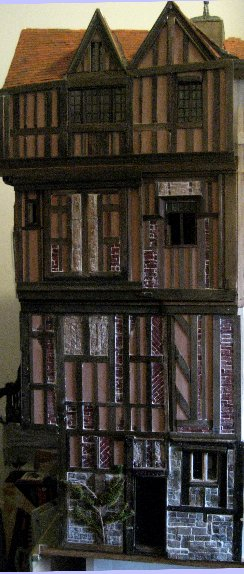 theinfill Medieval, Tudor, Jacobean 1:12 dolls house blog - the infill dolls house blog – left side of house top to btm