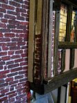 theinfill - Medieval, Tudor, Jacobean dolls house blog – 3rd chimney up against one of the long gallery windows