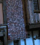 theinfill - Medieval, Tudor, Jacobean dolls house blog – 3rd chimney sort of corbelled in