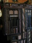 theinfill Medieval, Tudor, Jacobean dolls house blog - theinfill dolls house blog – interference fit 4th wall to long gallery