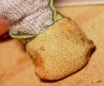 theinfill Medieval, Tudor, Jacobean dolls house blog - theinfill dolls house blog – stage 4 for foot wrap footwear