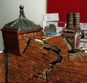 theinfill Medieval, Tudor, Jacobean dolls house blog - the infill dolls house blog – clad cupola on roof 2