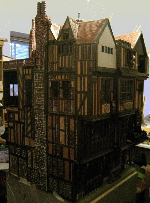 theinfill Medieval, Tudor, Jacobean dolls house blog - theinfill dolls house blog – stepping back and closing the door