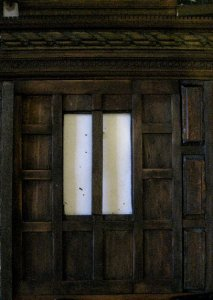 theinfill Medieval, Tudor, Jacobean dolls house blog - theinfill dolls house blog – long gallery multi layered woodwork 2