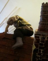 theinfill Medieval, Tudor, Jacobean dolls house blog - theinfill dolls house blog – dressing the shape made from he back