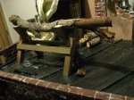theinfill Medieval, Tudor, Jacobean dolls house blog - theinfill dolls house blog – Steve's saw horse 2