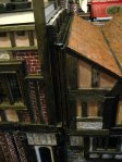 theinfill Medieval, Tudor, Jacobean dolls house blog - Hogepotche Hall –Hodgepodge Hall – join between building from side