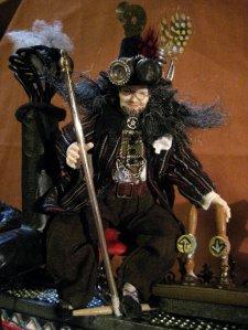 theinfill Medieval, Tudor, Jacobean dolls house blog - Hogepotche Hall –Hodgepodge Hall – steampunk machine operator