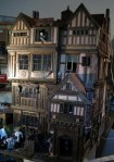 theinfill Medieval, Tudor, Jacobean dolls house blog - Hogepotche Hall –Hodgepodge Hall – Facade semi-side viewing