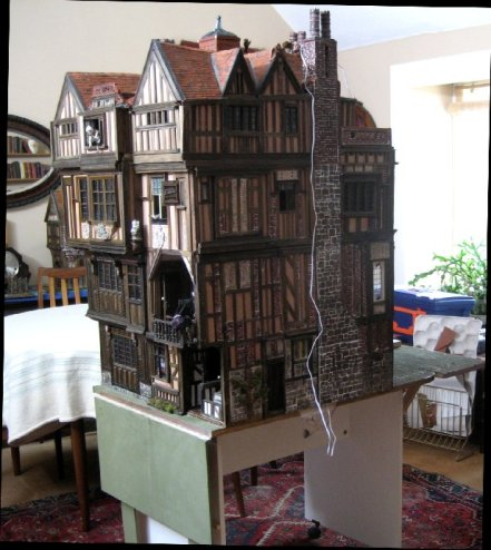 theinfill Medieval, Tudor, Jacobean dolls house blog - Hogepotche Hall –Hodgepodge Hall – out of the workroom