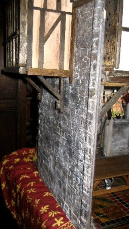 theinfill Medieval, Tudor, Jacobean dolls house blog - Hogepotche Hall –Hodgepodge Hall – great hall extension head room space