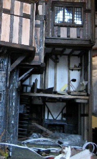 theinfill Medieval, Tudor, Jacobean dolls house blog - Hogepotche Hall –Hodgepodge Hall - main kitchen