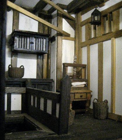 theinfill dolls house blog Hogepotche Hall –Hodgepodge Hall - a Medieval, Tudor, Jacobean dolls house blog - Linen room area basics
