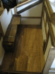 theinfill dolls house blog Hogepotche Hall –Hodgepodge Hall - a Medieval, Tudor, Jacobean dolls house blog - floating floor boards 4