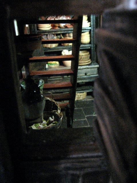 theinfill dolls house blog Hogepotche Hall –Hodgepodge Hall - a Medieval, Tudor, Jacobean dolls house blog - storeroom views 6