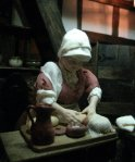 theinfill dolls house blog Hogepotche Hall –Hodgepodge Hall - a Medieval, Tudor, Jacobean dolls house blog - Hannah the bread maker