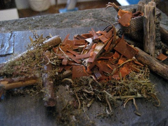 Pile Of Building Debris : Up on the tiles and leads theinfill
