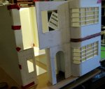 theinfill dolls house blog Hogepotche Hall –Hodgepodge Hall - a Medieval, Tudor, Jacobean dolls house blog - reshaping an Deco house -exploring the reveal