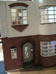 theinfill dolls house blog Hogepotche Hall –Hodgepodge Hall - a Medieval, Tudor, Jacobean dolls house blog - reshaping an Deco house - frontage and hallway