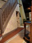 theinfill art deco dolls house blog, theinfill dolls house blog, theinfill 1930s-50s Deco House, Hogepotche Hall –Hodgepodge Hall - Medieval Tudor Jacobean dolls house blog - downstairs hallway and landing