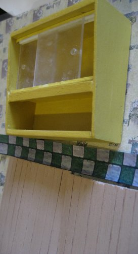 theinfill art deco dolls house blog, theinfill dolls house blog, theinfill 1930s-50s Deco House, Hogepotche Hall –Hodgepodge Hall - Medieval Tudor Jacobean dolls house blog - kitchen