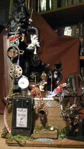 theinfill dolls house blog,Steampunk box scene
