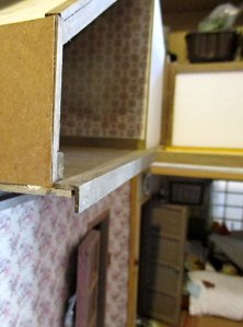 theinfill art deco dolls house blog, theinfill dolls house blog, theinfill 1930s-50s Deco House, Hogepotche Hall –Hodgepodge Hall - Medieval Tudor Jacobean dolls house blog - attic #1 the other half