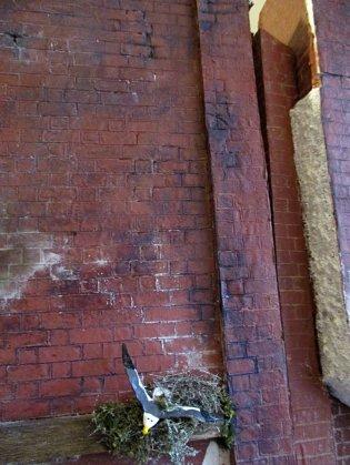 theinfill art deco dolls house blog, theinfill dolls house blog, theinfill 1930s-50s Deco House, Hogepotche Hall –Hodgepodge Hall - Medieval Tudor Jacobean dolls house blog - brickwork